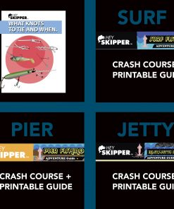 Fishing Tutorials Salt Water Essentials PDF Bundle of 4