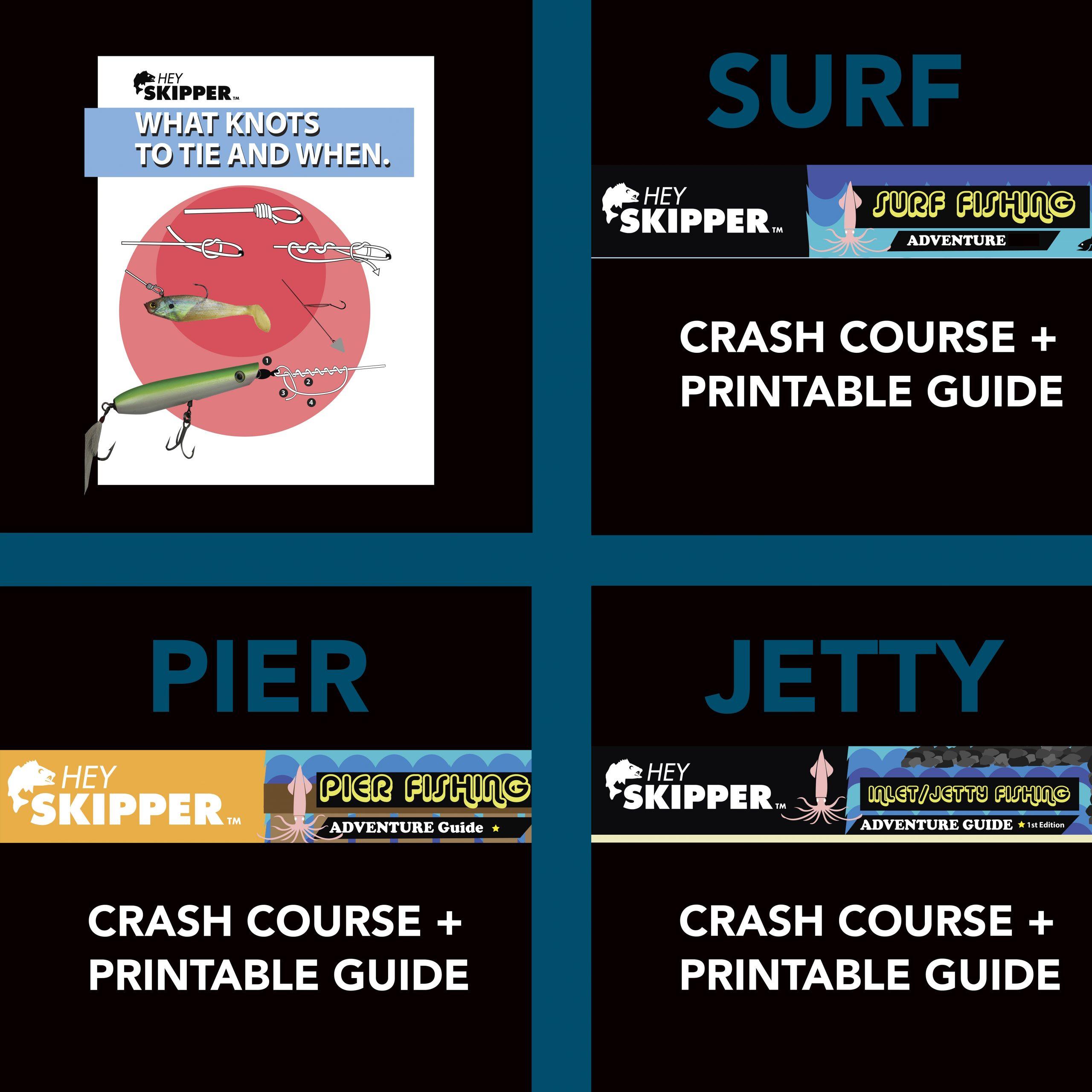 Fishing Tutorials Salt Water Essentials PDF Bundle of 4